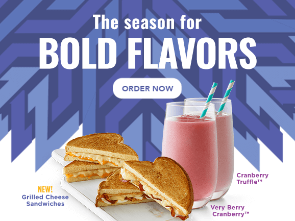 The season for BOLD FLAVORS