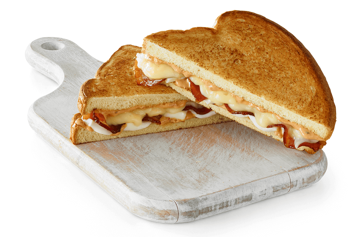 Smoky Grilled Cheese